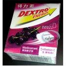 Dextro Energy Blackcurrant flavor Dextrose Candy with Vitamin C sweet candies
