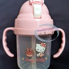 Sanrio HELLO KITTY Baby Training MUG with Straw Cup 210 ml kids girls feeding Cz