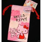 Sanrio HELLO KITTY Drawstring Bag Mobile Cell Phone BAGS MP3 DC case