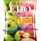Edo Gummy Candy Apple & Peach Flavor sweet candies kids