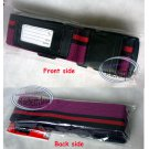 Japan Imported Adjustable Travel Luggage Strap Baggage Suitcase Belt with Side Release Buckle