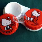 Sanrio HELLO KITTY Contact lens holder case set travel kit QR12
