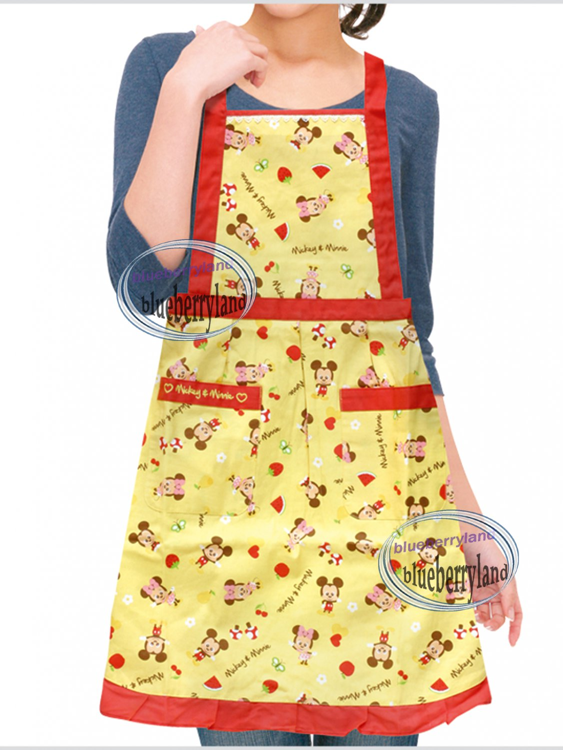 Disney MICKEY MOUSE Apron full size Home Kitchen cooking