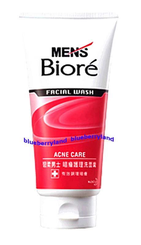Men Men's Biore Anti-Acne Facial Wash man 100g