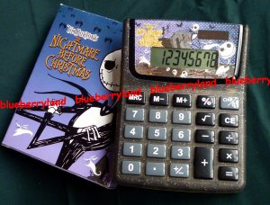 Disney Tim Burton�s The Nightmare Before Christmas Electronic Desktop Calculator stationery women