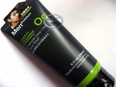 Mentholatum Oil Control Charcoal Deep Cleansing Face Wash 100ml for Men beauty