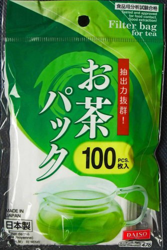 Loose Leaf Tea Filter Disposable Bag 100pcs set Herb ~ Japan Imported
