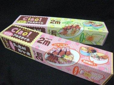 Japan 20cm x 2m (meter) Tin Foil Aluminum Roll Sheet Strawberry Lemon