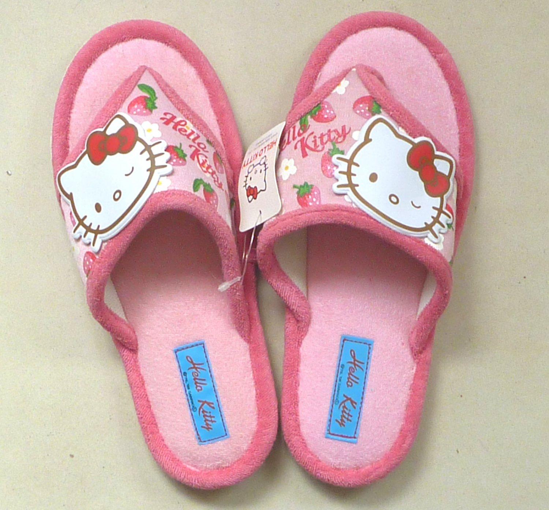 Japan Sanrio HELLO KITTY Flip Flop slipper Toe THONG Sandal Shoe