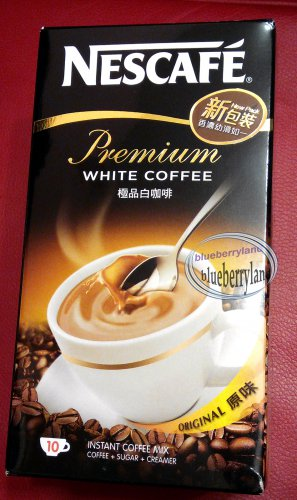 Nestle NESCAFE Premium WHITE COFFEE Original 3 in 1 Instant Coffee Mix cafe