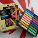 Japan imported 18 pieces Colors Pastel set school drawing