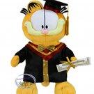 "Garfield 14"" Tall Plush Doll figure figurine Graduation GIFT school university girls"