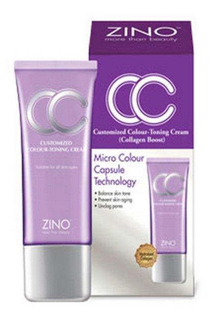 ZINO Customized Colour Toning Collagen Boost CC Cream 30ml skin care