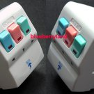 3-Way Multi Plug Electrical Extension Socket Fused UK Mains with 3 Colors Switches A