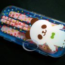 PANDA Cutlery set Fork Spoon Chopstick case sets bento lunchbox accessories