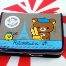 San-X Rilakkuma Relax Bear Bifold Wallet purse bag C