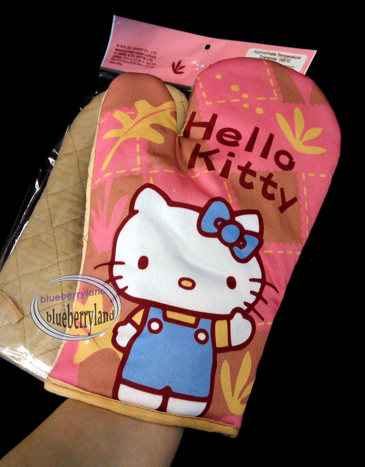 Sanrio HELLO KITTY Oven Mitt for Adult kitchen cooking