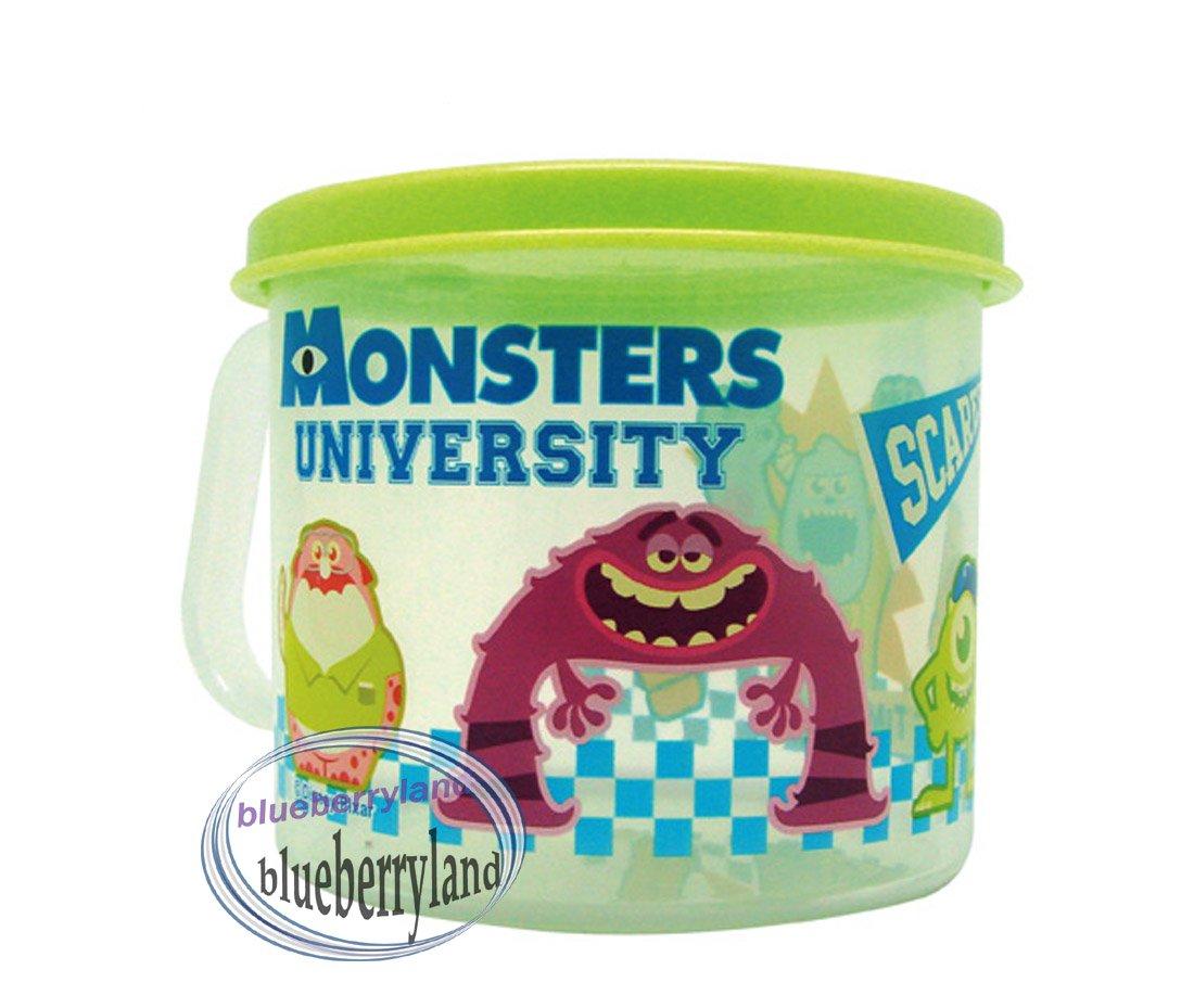 Monsters University Plastic Cup Girl mug with lid 250ml kids child Q4