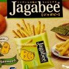 Calbee Jagabee Potato stick with SEAWEED snack parties TV snacks chip snacks kids ladies home