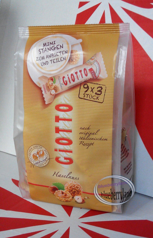 Ferrero GIOTTO Hazelnut cream snack pack Chocolate Snack ...  Ferrero GIOTTO ...