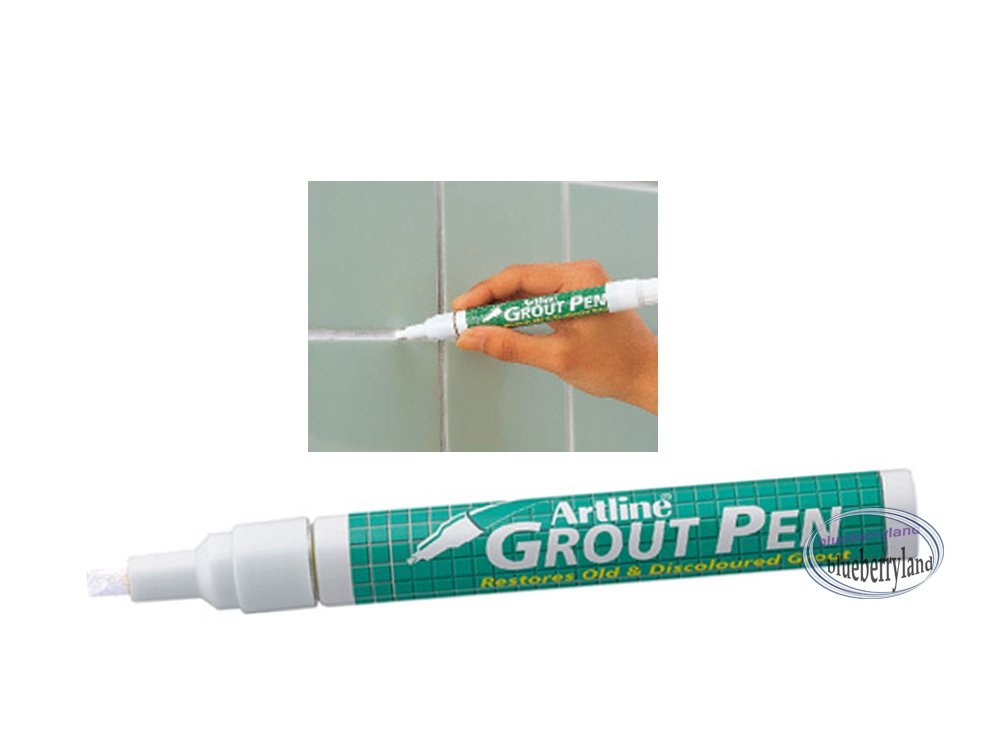 White Grout Pen Cleaning Tile Bathroom Kitchen Mold Cleaner Tool Tiles Restorer