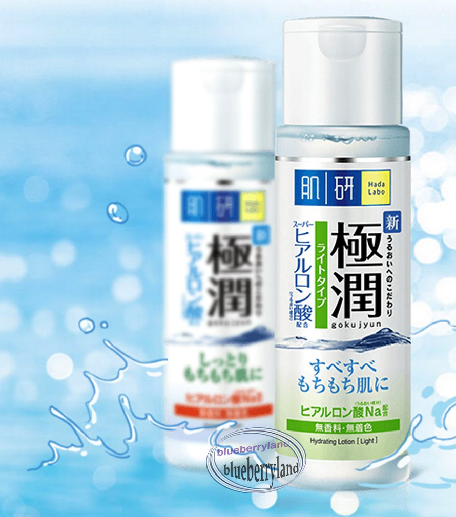 Japan Hada Labo Gokujyun Hydrating Lotion 170ml Light skin care ladies cosmetic