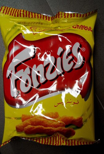 Fonzies Cheese Flavour Corn Chips Crispy Fried Snack 70g