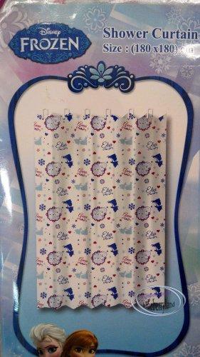 Disney FROZEN SHOWER CURTAIN bathroom accessories household