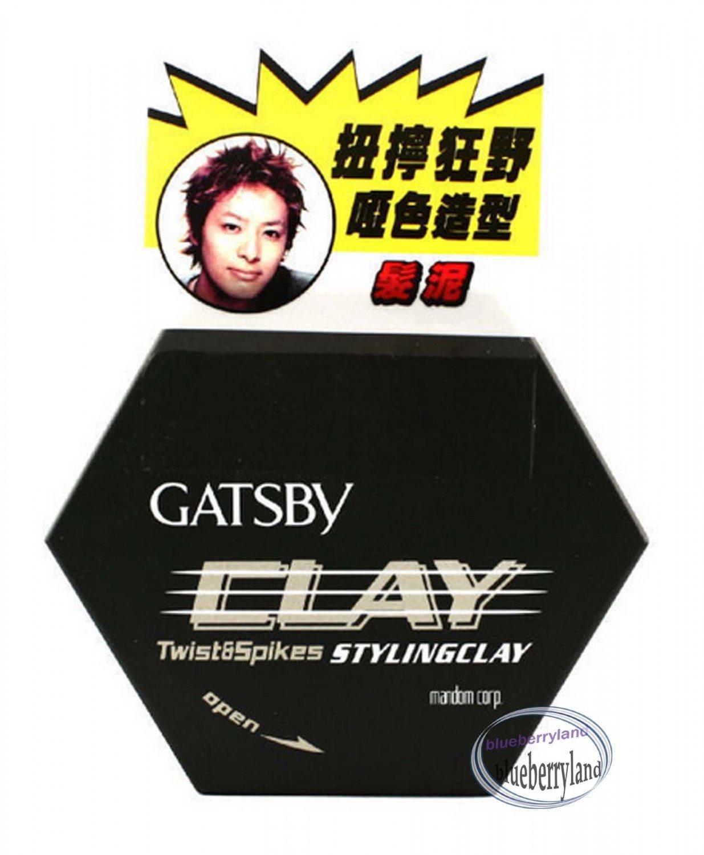 Japan Gatsby Twist & Spikes Styling Clay 50g