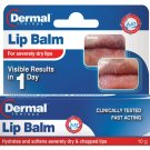 Dermal Therapy Lip Balm 10g for severely dry & chapped lips