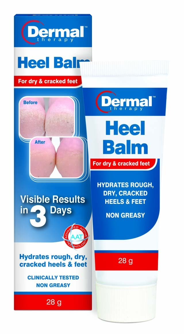 Dermal Therapy Heel Balm 50g for dry, cracked heels & feet