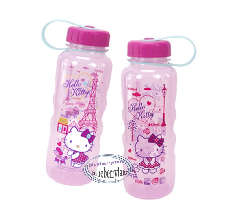 Sanrio Hello Kitty BPA Free Water Juice Bottle with sipper 650ml Q5