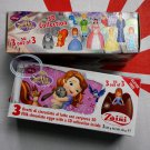 Zaini Disney Sofia the First Chocolate Surprise 3 Eggs With Toy Figure Inside choco ladies kid