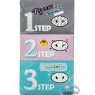 Korea Pig Nose Clear Black Head 3-Step Kit x 2 Pcs