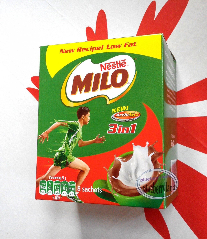 Nestle Milo Malt Drink mix pouch Nutritious Instant Drink Powder chocolate