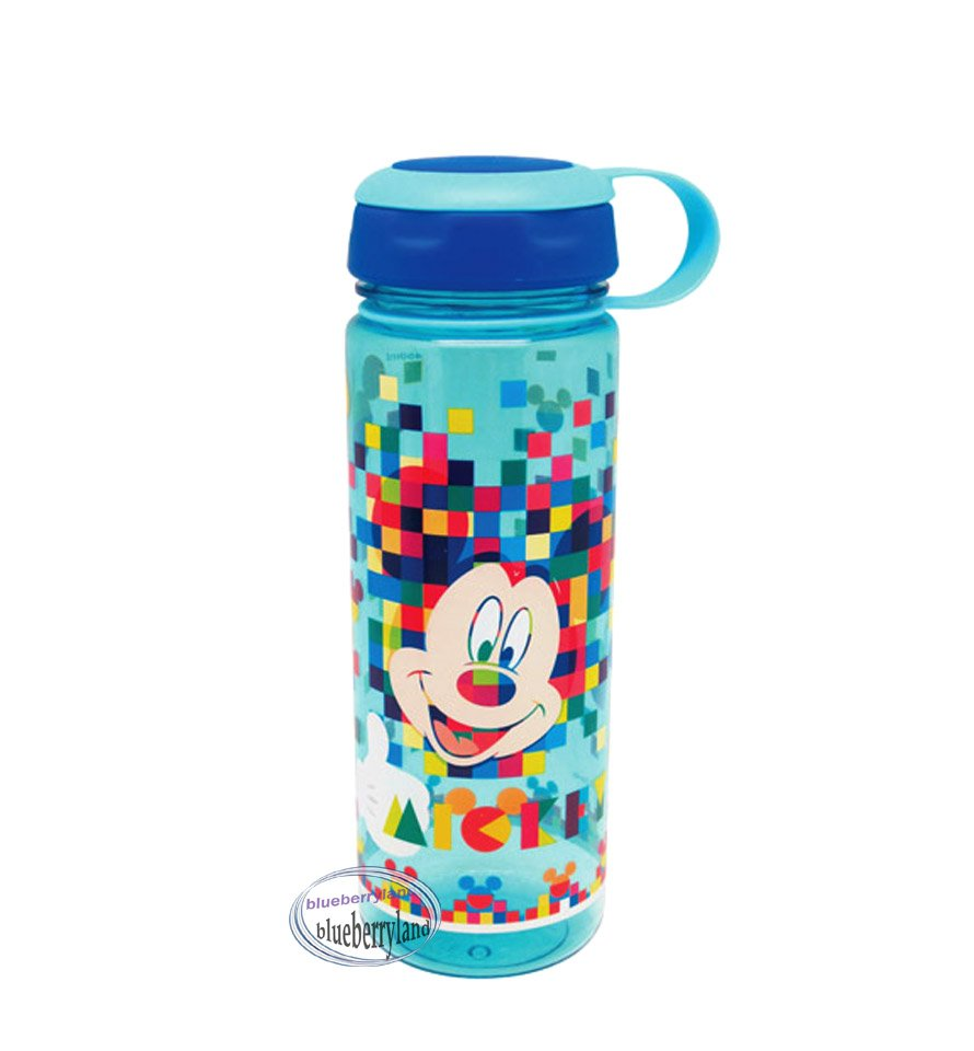 Disney Mickey Mouse Water Bottle drink Container 450ml outdoor school Q15