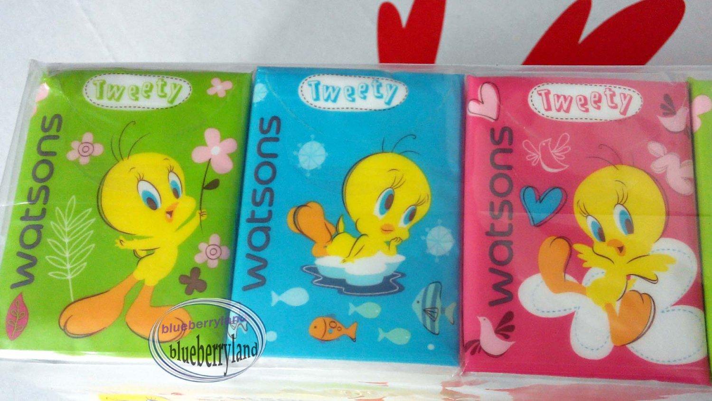 20 Packs Looney Tunes Tweety Tissue Paper hankies woman home