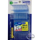 30 pcs Japan Lion Clinica Triple String Dental Floss Stick