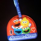 Sesame Streets ELMO & Cookie Monster Luggage Name Tag holder Travel school bag Q4