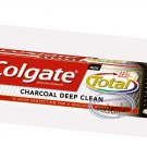 Colgate Total 12h Charcoal Deep Clean Fluoride Toothpaste Teeth Tooth Care Preventing Bad Breath