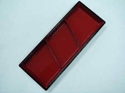 Japanese Sauce Dipping Plate with 3 partitions dressing soy sauces