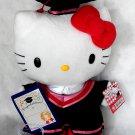 "Sanrio Hello Kitty 12"" Tall Plush Doll figure figurine Graduation GIFT school university girls Q15"