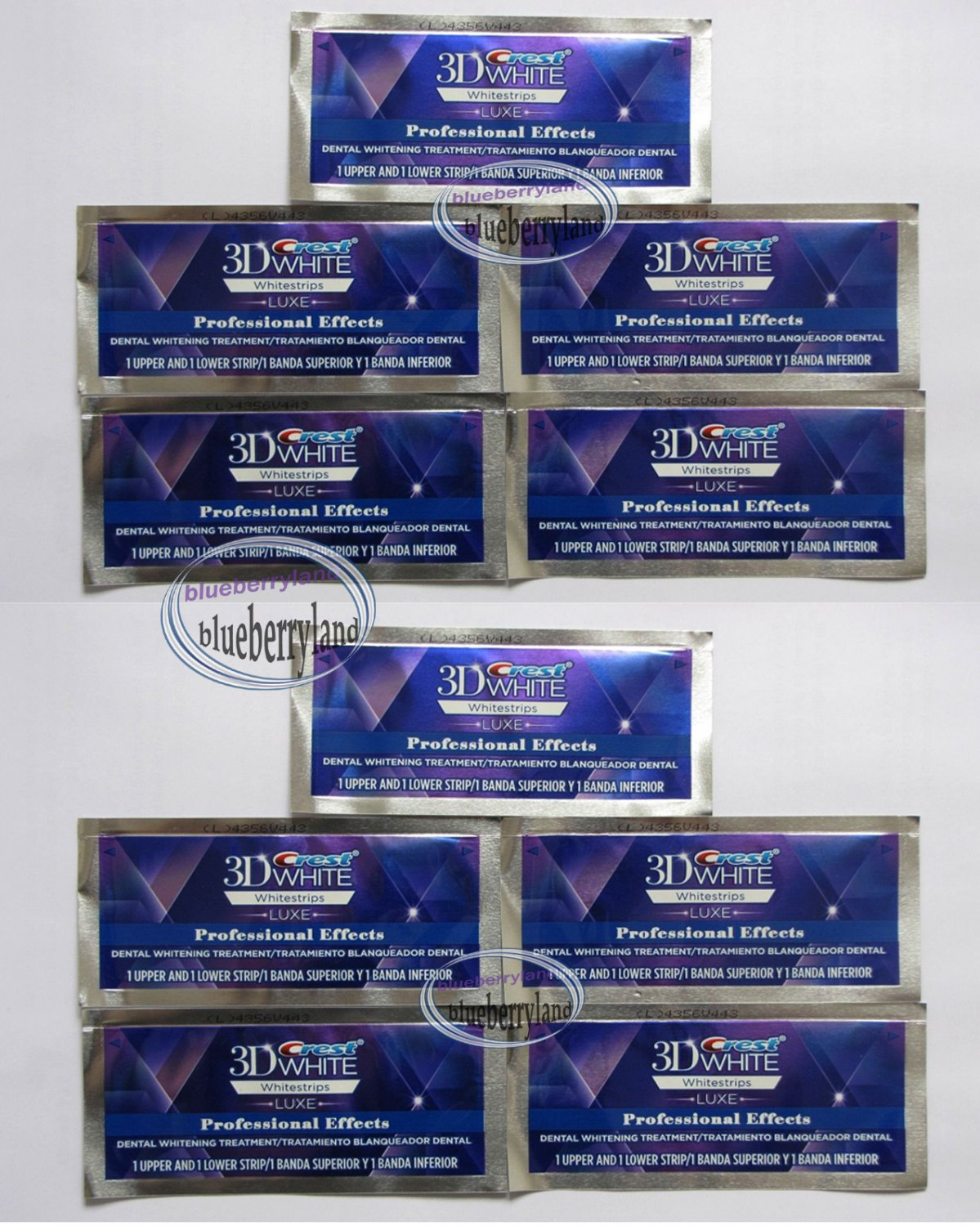 Crest 3d White Whitestrips Luxe Professional Effects Teeth