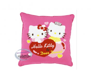 Sanrio Hello Kitty Hello Kitty & Dear Daniel Chinese Wedding Cushion Square pink