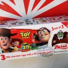 Zaini Disney Toy Story Chocolate Surprise 3 Eggs With Toy Figure Inside choco ladies kid sp edition