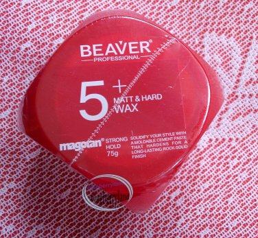 Beaver Professional Magotan 5+ Matt & Hard Wax 75g Hair care Strong Hold styling