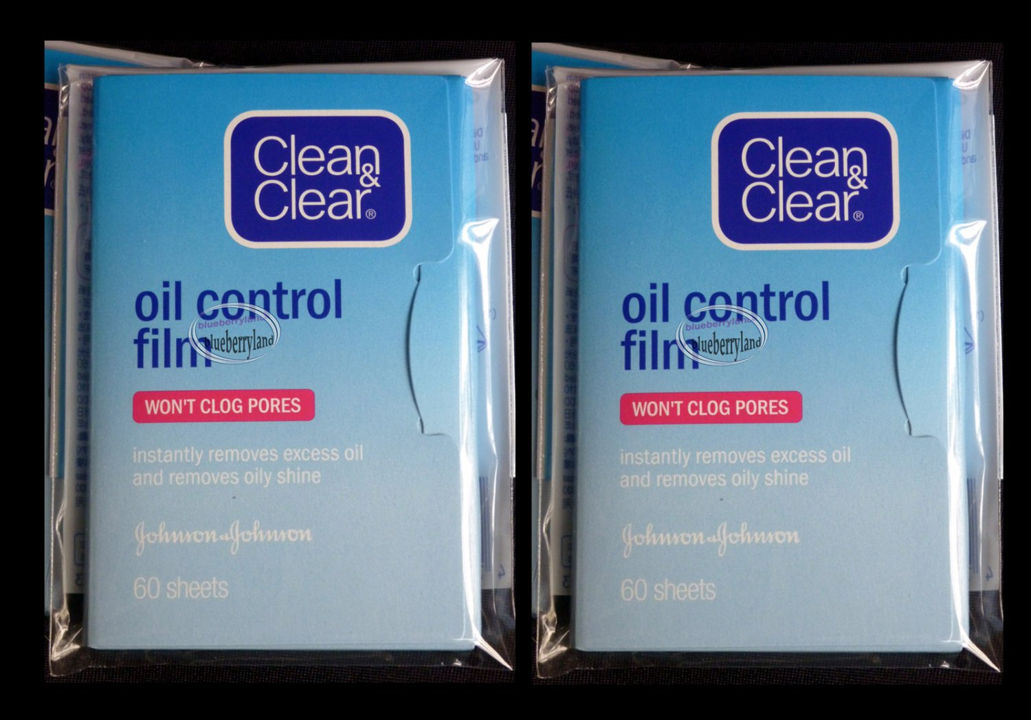 Clean & Clear feuillets absorbeurs d'huiles anti-sebum Oil Absorbing 120 Sheets