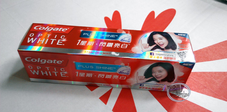 Colgate Optic White Sparkling Mint Anticavity Fluoride Toothpaste 100g