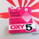OXY 5 Acne Medication Face Clear Pimple Treatment 25g Regular Strength