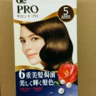 Japan Salon de Pro One Push Hair Color Cream Type Kit # 5 Natural Brown